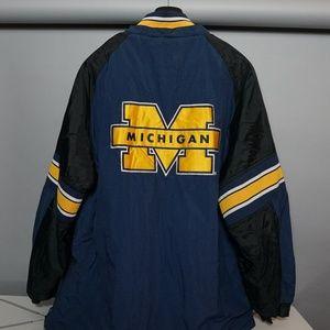 VINTAGE University of Michigan Starter Jacket